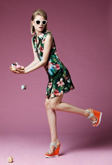 דפנה לוינסון. קטלוג אופנה או פרסומת לניתוח לקיצור קיבה? (צילום: גורן ליובונציץ)