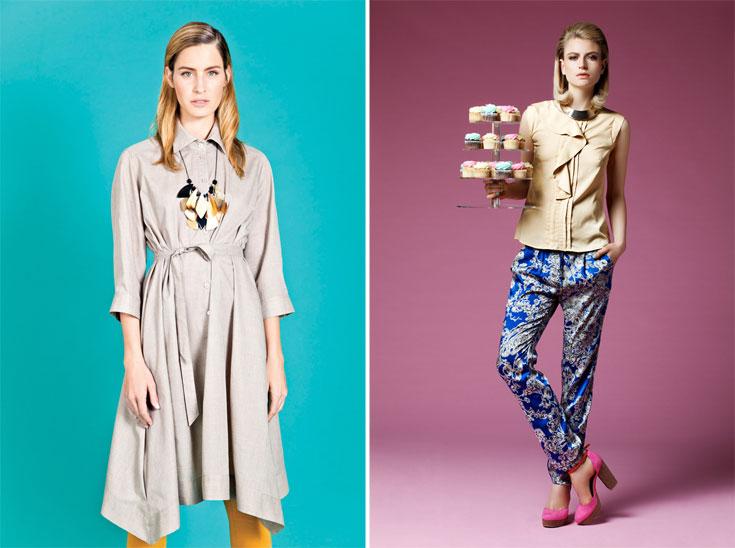 קטלוג אביב-קיץ 2012 של דפנה לוינסון (מימין) ומאיה נגרי. מהמעצבות המעטות שהשקיעו בקטלוג מודפס (צילום: גורן ליובונציץ, דודי חסון)