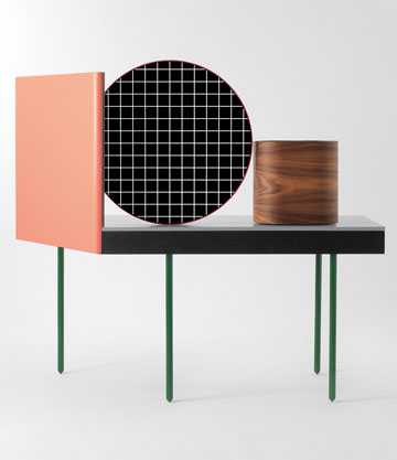 רהיט בעיצוב הצמד דושי-לוין, בעבור BD Barcelona. יש השפעה