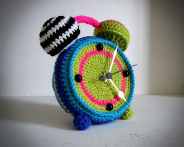 ושעון סרוג של הדר קפלן (צילום: רענן כהן)