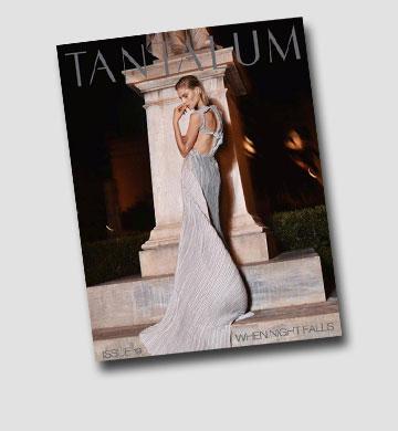 """רות' על שער מגזין """"טנטלום"""""""