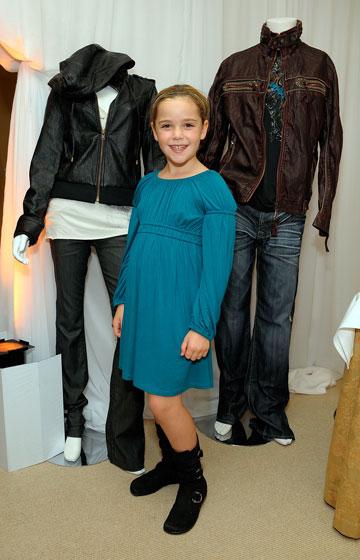 שיפקה, 2008. הופיעה בפרסומות כבר כשהיתה תינוקת (צילום: gettyimages)