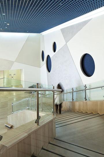בית יד לבנים באשדוד. גלריות ואודיטוריום (צילום: טל ניסים)