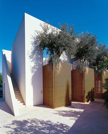בית פרטי בתכנון כרמי ברמת השרון (באדיבות רם כרמי אדריכלים)