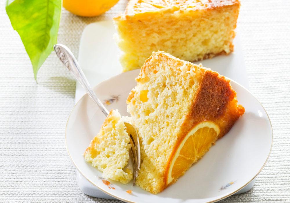 כן, גם אצלכם היא תיראה ככה. עוגת תפוזים פרווה (צילום: דני לרנר, סגנון: פסי ברניצקי)