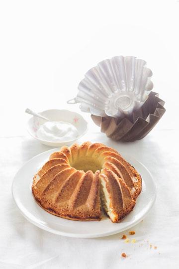 עוגת שקדים פרווה ללא גלוטן (צילום: דני לרנר, סגנון: פסי ברניצקי)