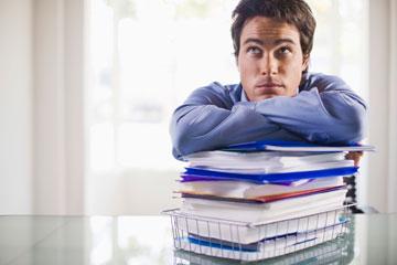 תייקו מסמכים בתדירות גבוהה (צילום: thinkstock)
