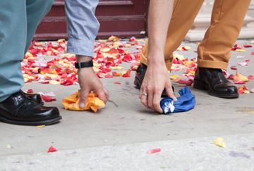 חתונתם של אורן ואלכס מירון בברלין (צילום: Natalie Toczek )