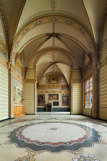 האולם הגדול במוזיאון. תוספות בנייה מאוחרות הוסרו (צילום: annes Linders)