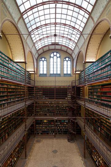 הספרייה של קאופרס. לא להחמיץ (צילום: Iwan Baan)