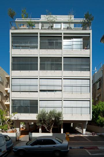 הבניין שופץ וחוזק מפני רעידות אדמה (צילום: עמרי אמסלם)