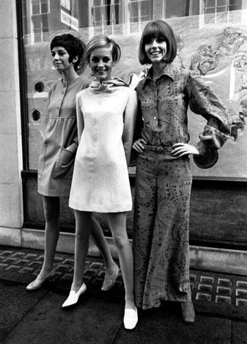 טוויגי, 1967. שלטון הרזון (צילום: gettyimages)