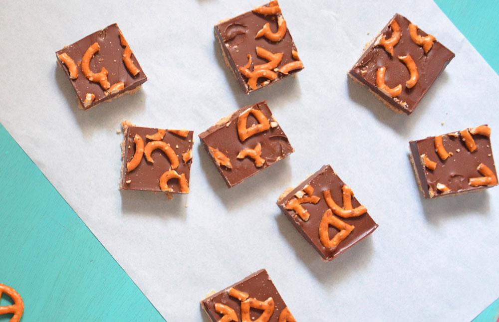 עוגיות שוקולד וחמאת בוטנים עם בייגלה (צילום: חני הראל)