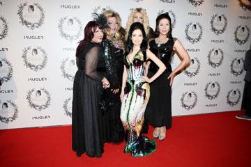 ראידמן עם הדראגיסטיות קיי לונג, ציונה פטריוט, טלולה בונט ואושרי (צילום: אורית פניני)