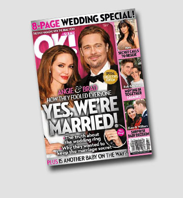 השמועות על חתונתם התבררו כמוקדמות מדי. שער המגזין ''אוקיי'' שחולל מהומה רבתי