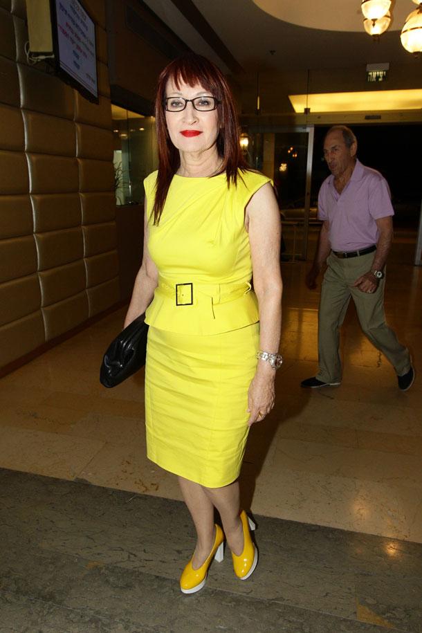 תלבשי צהוב. פינס (צילום: רפי דלויה)