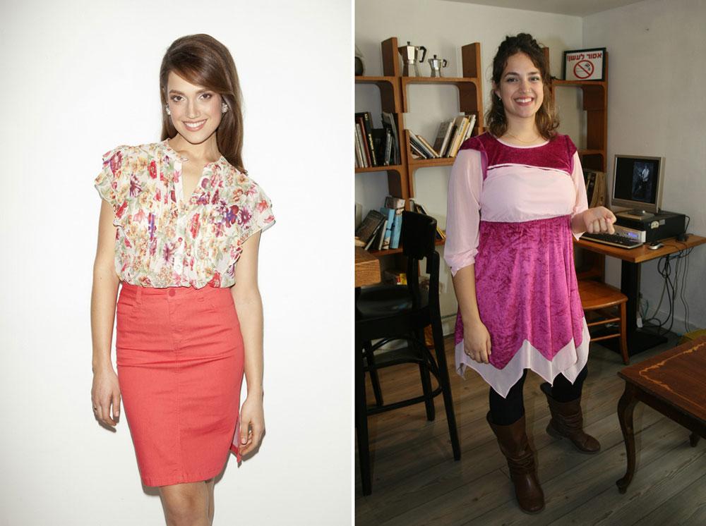 בלי פחממות וסוכרים. מארינה מקסימיליאן קרני לפני ואחרי (צילום: רועי חביב, דודי חסון)