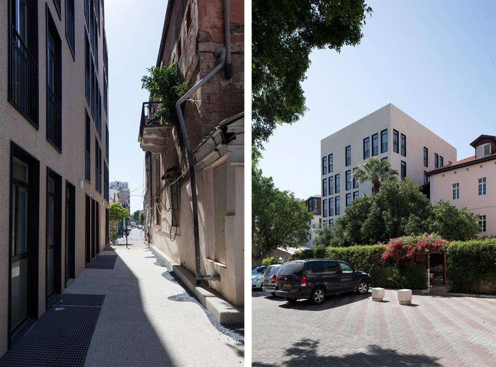 הרחובות סביב עוברים תהליך של שיפוץ ושדרוג (צילום: אביעד בר נס)