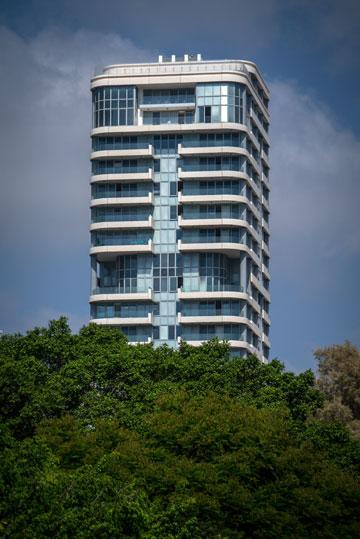 מגדל פרישמן-דיזנגוף בתל אביב (צילום: איתי סיקולסקי)