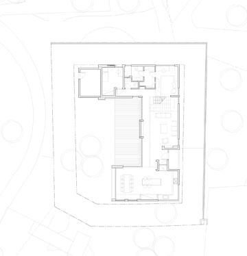 תוכנית הבית. אדריכלים: לוסיאנו סנטנדראו (תכנון: SaaB Architects)