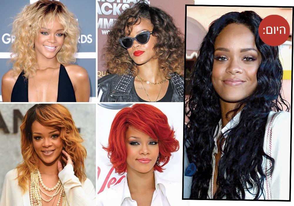 מה צבע השיער שהכי מתאים לריהאנה? שאלנו את מעצבי השער המובילים וחזרנו עם תשובות מפתיעות (צילום: gettyimages)