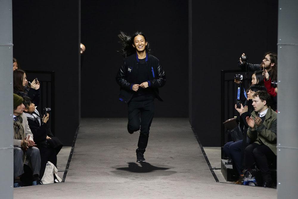 אלכסנדר וונג. מעצב האופנה הצעיר ביותר שזוכה לשתף פעולה עם רשת H&M (צילום: gettyimages)
