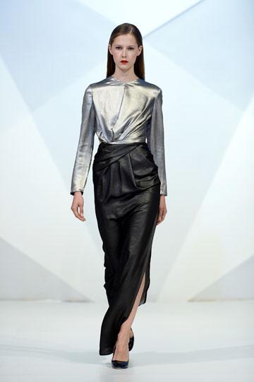 תצוגה של סעיד מהרוף בשבוע האופנה בדובאי (צילום: gettyimages)