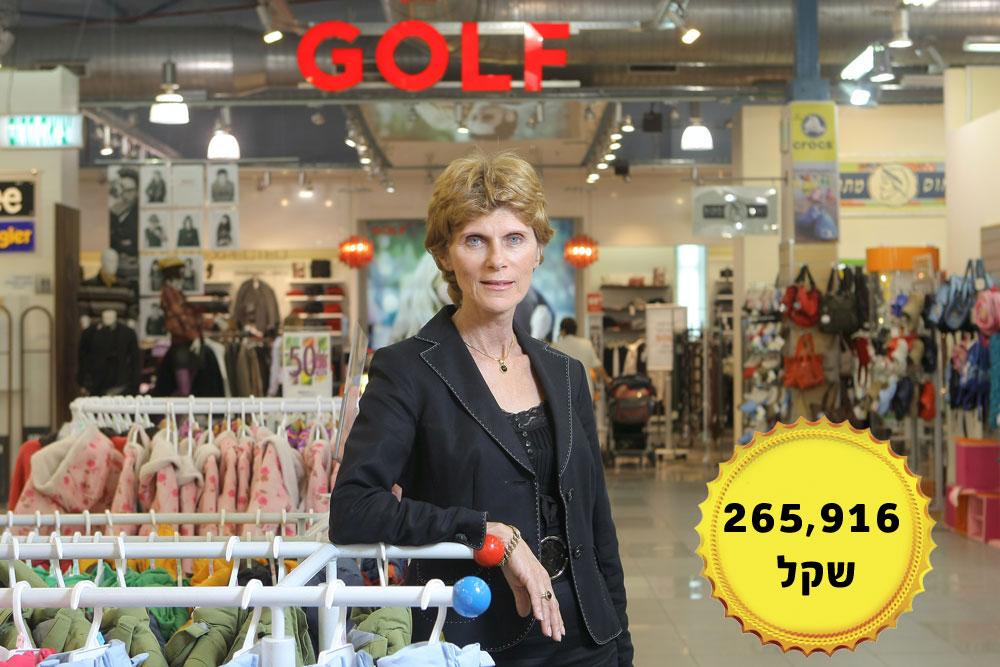 """אילנה קאופמן, מנכ""""ל לשעבר של קבוצת גולף, אשר סיימה את תפקידה במהלך 2013 (צילום: אוראל כהן)"""