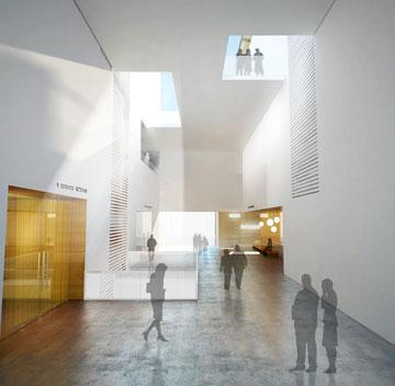 ההצעה של מן-שנער (תכנון: מן – שנער אדריכלים)