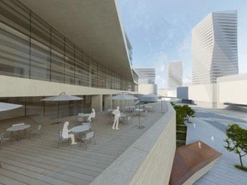 ההצעה של אוקא (תכנון: אוקא אדריכלים –אורית וילנברג גלעדי וקרן ידווב)