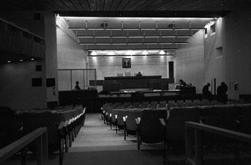 לימים יהפוך האולם ל''מרכז ז'ראר בכר'' (צילום: דוד רובינגר)