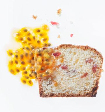 עוגת ריקוטה מנוקדת (צילום: דני לרנר, סגנון: נעמה רן)
