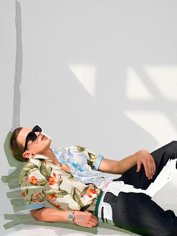 """""""שוק האופנה והפרסום ההולנדי עבר טלטלה מאוד גדולה בשלוש השנים האחרונות"""" (צילום: שרון מור יוסף )"""