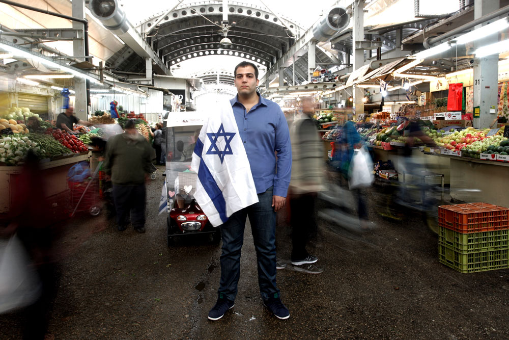 """עידו דניאל. """"אני לא מאמין שיש ישראלי שמשתמש היום ברשתות החברתיות ולא נתקל בהערות האלה, אז למה לא לפעול?"""" (צילום: קובי בכר)"""