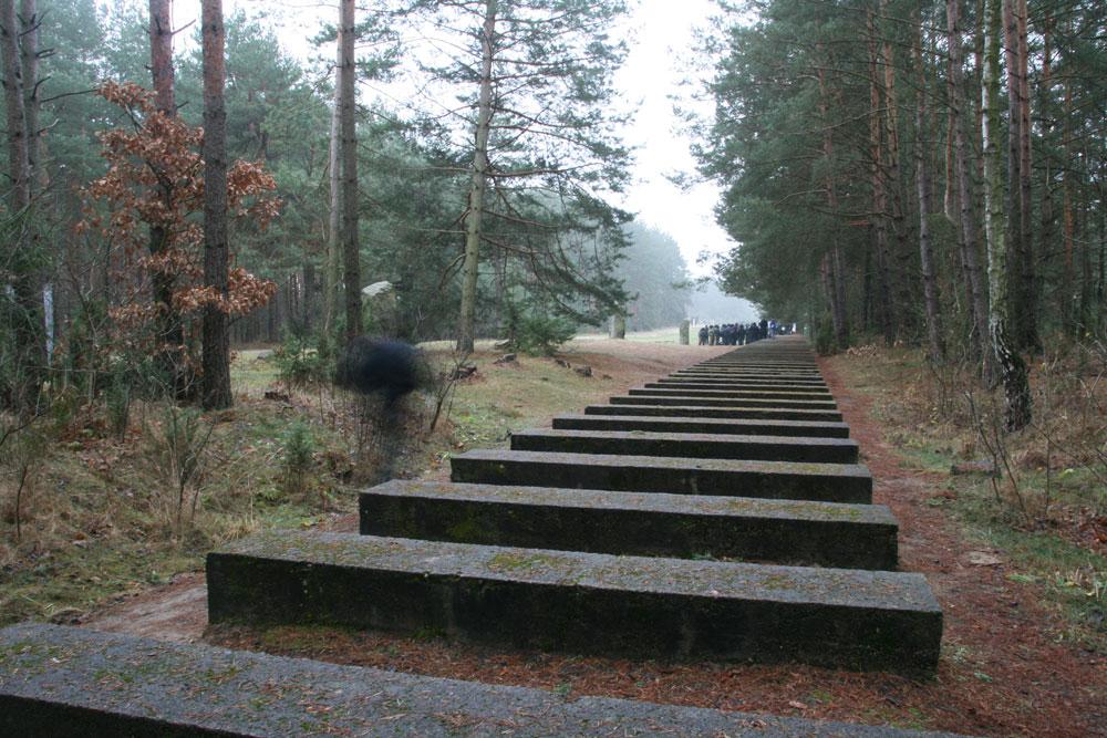 אתר ההנצחה טרבלינקה, כיום. כ-900 אלף בני אדם מצאו כאן את מותם, רובם יהודים. ממחנה ההשמדה לא נותר זכר (צילום: Gil Eilam,cc)