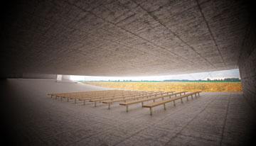 הדמיה של מרחב ההתכנסות (באדיבות אוקא אדריכלים-אורית וילנברג גלעדי וקרן ידווב)