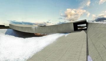 הדמיה של המקום בחורף (באדיבות אוקא אדריכלים-אורית וילנברג גלעדי וקרן ידווב)