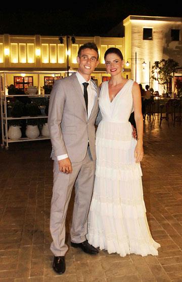 """לירון ויצמן מתחתנת בשמלה של הוד. """"עד הפינטרסט והאינסטגרם היה קשה להיחשף למעצבים צעירים והשיווק היה פחות נגיש"""" (צילום: צילום עידו ארז, pplus)"""