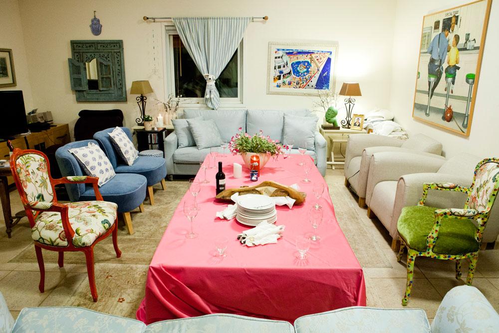 המיקום: ביתה של סוכנת הדוגמניות המיתולוגית בטי רוקאווי ביישוב ארסוף (צילום: מירב בן לולו )
