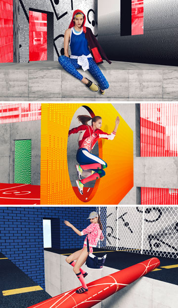 אדידס. קו חדש של המעצבת סטלה מקרטני עם מחירים תחרותיים ושפה צעירה (צילום: סטודיו אדידס)