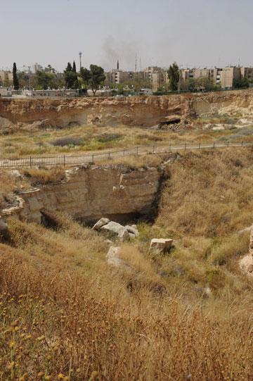 ''התושבים בבאר שבע צמאים לסיורים כאלה''. והנה ההזדמנות (צילום: ישראל יוסף)