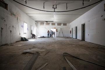 בית העם מבפנים. איך ייראה אחרי השיפוץ והעיצוב מחדש? (צילום: אור אלכסנברג)