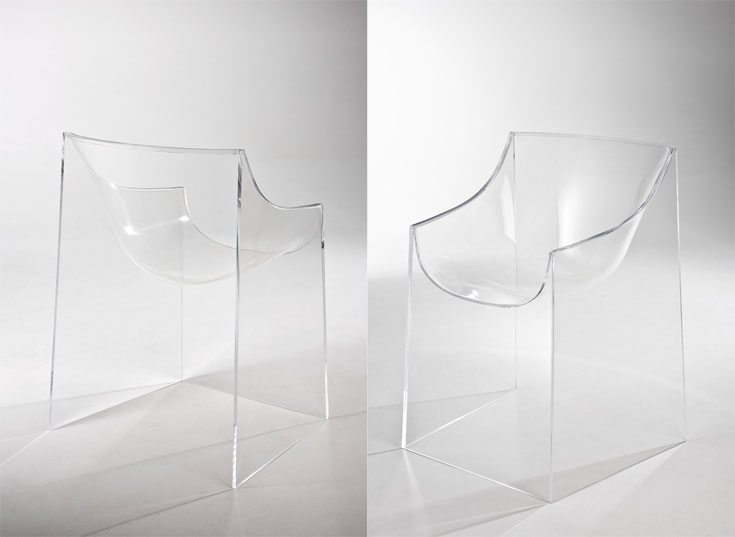ואחרון באותו נושא בשביל אותה חברה: כיסא Silk (משי) של Quittllet לקרטל
