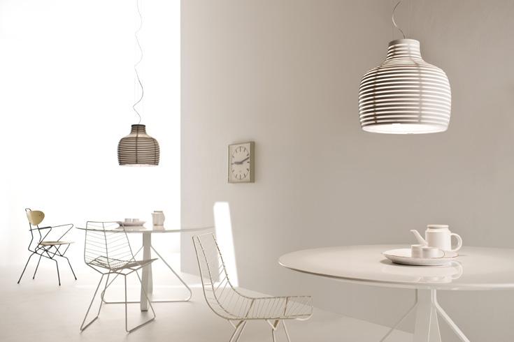 מנורת הכוורת של ורנר אייסלינגר. Foscarini