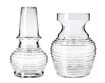 זול: כלי הזכוכית החדשים של איקאה