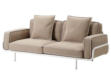 צינור מתכת עוטף ספה קלילה, הגרסה הזולה: איקאה 2012