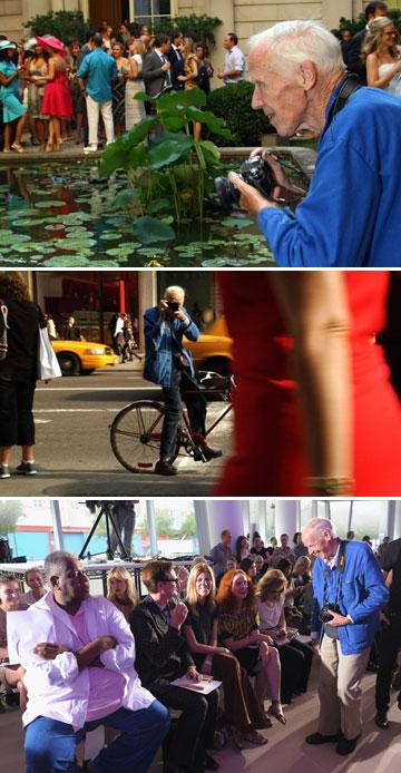 ביל קנינגהם. מתעד את אופנת הרחוב של ניו יורק (Courtesy First thought films, gettyimages)