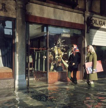 חנות של הרמס בוונציה, 1965 (צילום: gettyimages)