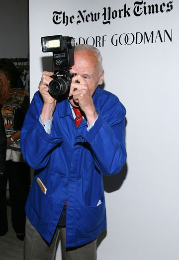 ביל קנינגהם. ''זה מעליב כשהוא לא מצלם אותך'', אומרת אנה ווינטור (צילום: gettyimages)