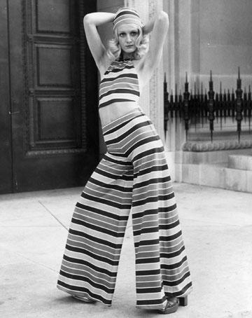 בגדים בעיצובה של מרי קוואנט, 1971 (צילום: gettyimages)